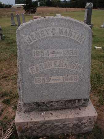 MARTIN, HENRY C - Franklin County, Illinois | HENRY C MARTIN - Illinois Gravestone Photos