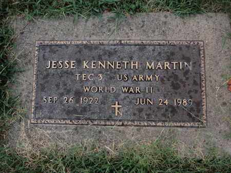 MARTIN, JESSE KENNETH - Franklin County, Illinois   JESSE KENNETH MARTIN - Illinois Gravestone Photos