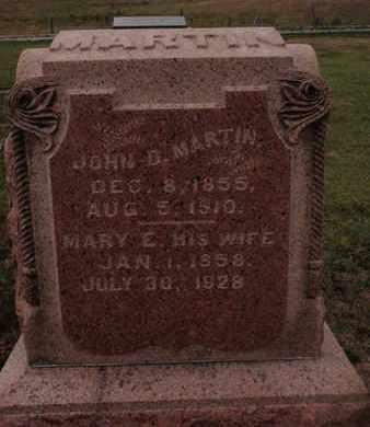 MARTIN, MARY E - Franklin County, Illinois | MARY E MARTIN - Illinois Gravestone Photos
