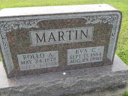 MARTIN, EVA C - Franklin County, Illinois | EVA C MARTIN - Illinois Gravestone Photos