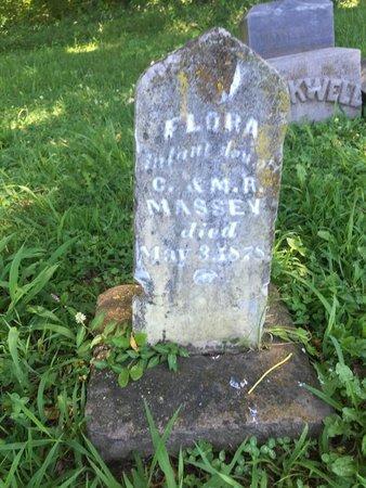 MASSEY, FLORA - Franklin County, Illinois   FLORA MASSEY - Illinois Gravestone Photos