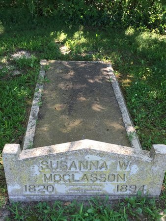 SCANTLIN MCGLASSON, SUSANNA WRIGHT - Franklin County, Illinois | SUSANNA WRIGHT SCANTLIN MCGLASSON - Illinois Gravestone Photos