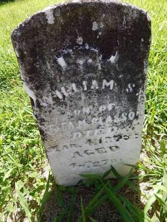 MCGLASSON, WILLIAM S - Franklin County, Illinois | WILLIAM S MCGLASSON - Illinois Gravestone Photos