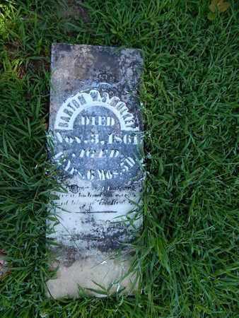 MULKEY, BARTON W S - Franklin County, Illinois | BARTON W S MULKEY - Illinois Gravestone Photos