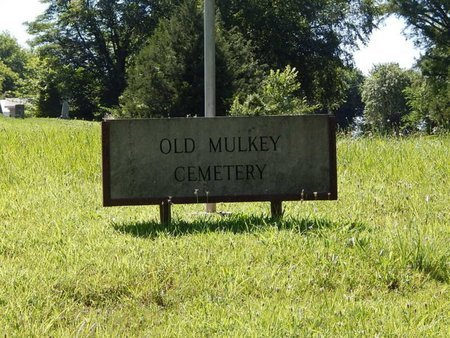 *OLD MULKEY CEMETERY, SIGN - Franklin County, Illinois | SIGN *OLD MULKEY CEMETERY - Illinois Gravestone Photos