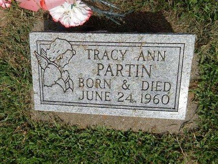 PARTIN, TRACY ANN - Franklin County, Illinois   TRACY ANN PARTIN - Illinois Gravestone Photos