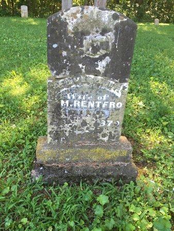 MULKEY RENTFRO, ELVIRA ANN - Franklin County, Illinois | ELVIRA ANN MULKEY RENTFRO - Illinois Gravestone Photos