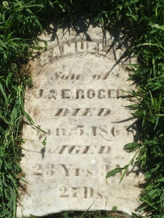ROGERS, SAMUEL G - Franklin County, Illinois | SAMUEL G ROGERS - Illinois Gravestone Photos