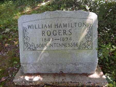 ROGERS, WILLIAM HAMILTON - Franklin County, Illinois | WILLIAM HAMILTON ROGERS - Illinois Gravestone Photos