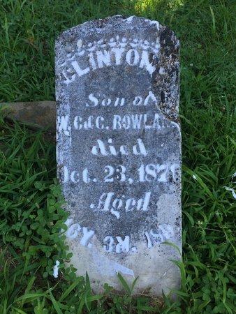 ROWLAND, CLINTON - Franklin County, Illinois | CLINTON ROWLAND - Illinois Gravestone Photos