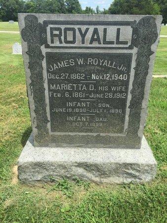 ROYALL, MARIETTA D - Franklin County, Illinois | MARIETTA D ROYALL - Illinois Gravestone Photos