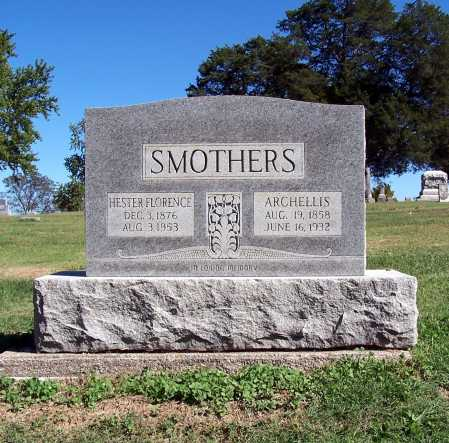 SMOTHERS, ARCHELLIS CASEY - Franklin County, Illinois | ARCHELLIS CASEY SMOTHERS - Illinois Gravestone Photos