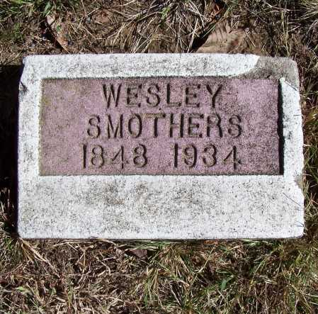 SMOTHERS, JOHN WESLEY - Franklin County, Illinois   JOHN WESLEY SMOTHERS - Illinois Gravestone Photos