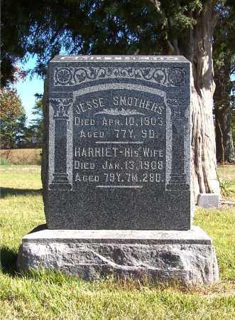 SMOTHERS, JESSE LOWRY - Franklin County, Illinois | JESSE LOWRY SMOTHERS - Illinois Gravestone Photos