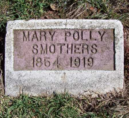 SMOTHERS, MARY A. E. (POLLY) - Franklin County, Illinois | MARY A. E. (POLLY) SMOTHERS - Illinois Gravestone Photos
