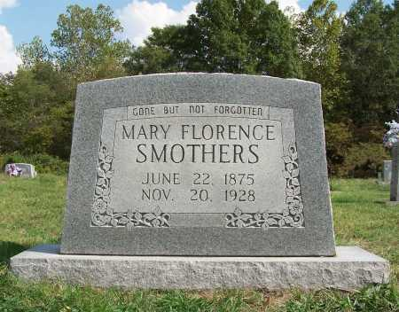 SMOTHERS SMOTHERS, MARY FLORENCE - Franklin County, Illinois | MARY FLORENCE SMOTHERS SMOTHERS - Illinois Gravestone Photos