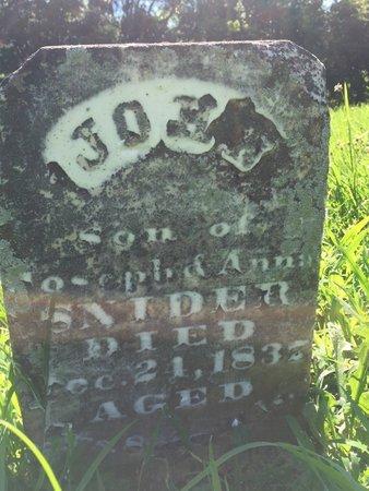SNIDER, JOHN - Franklin County, Illinois | JOHN SNIDER - Illinois Gravestone Photos