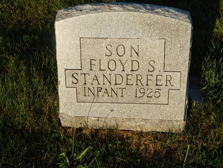 STANDERFER, FLOYD S - Franklin County, Illinois | FLOYD S STANDERFER - Illinois Gravestone Photos