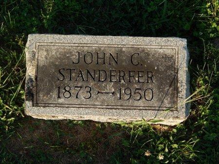 STANDERFER, JOHN C - Franklin County, Illinois | JOHN C STANDERFER - Illinois Gravestone Photos