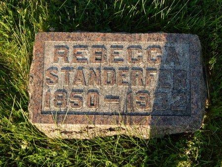 STANDERFER, REBECCA - Franklin County, Illinois   REBECCA STANDERFER - Illinois Gravestone Photos