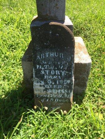 STORY, ARTHUR J - Franklin County, Illinois | ARTHUR J STORY - Illinois Gravestone Photos