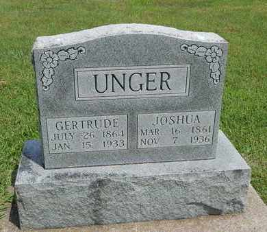 CORZINE UNGER, LENORA GERTRUDE - Franklin County, Illinois | LENORA GERTRUDE CORZINE UNGER - Illinois Gravestone Photos