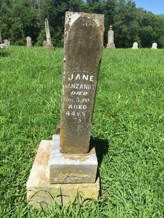 VANZANDT, JANE - Franklin County, Illinois | JANE VANZANDT - Illinois Gravestone Photos