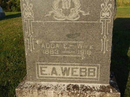 WEBB, ADDA E - Franklin County, Illinois | ADDA E WEBB - Illinois Gravestone Photos