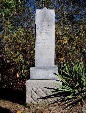 WEBB, ALLEN - Franklin County, Illinois | ALLEN WEBB - Illinois Gravestone Photos