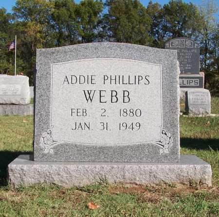 WEBB, ADDIE - Franklin County, Illinois | ADDIE WEBB - Illinois Gravestone Photos