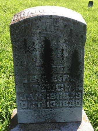 WELCH, CHARLOTTE - Franklin County, Illinois | CHARLOTTE WELCH - Illinois Gravestone Photos