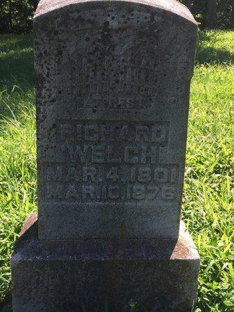 WELCH, RICHARD - Franklin County, Illinois   RICHARD WELCH - Illinois Gravestone Photos