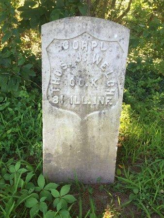 WELCH (VETERAN USA), THOMAS J - Franklin County, Illinois | THOMAS J WELCH (VETERAN USA) - Illinois Gravestone Photos