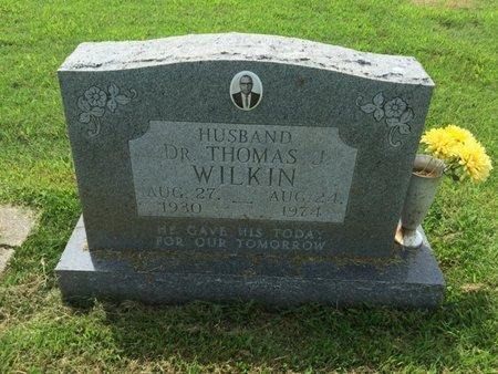 WILKIN, THOMAS (DOCTOR) - Franklin County, Illinois | THOMAS (DOCTOR) WILKIN - Illinois Gravestone Photos