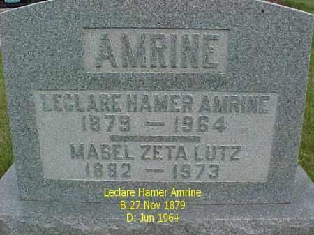 AMRINE, MABEL ZETA - Fulton County, Illinois | MABEL ZETA AMRINE - Illinois Gravestone Photos