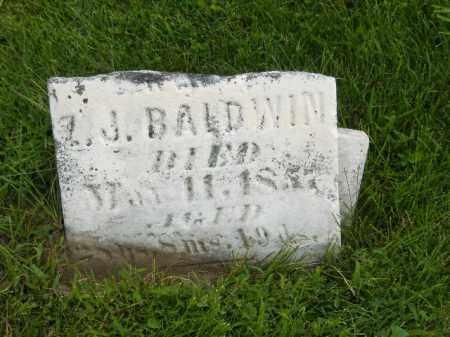 BALDWIN, MARY E. - Fulton County, Illinois | MARY E. BALDWIN - Illinois Gravestone Photos