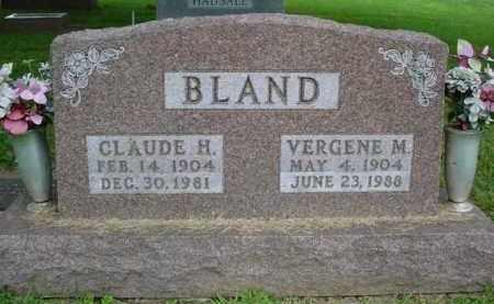 WETZEL BLAND, VERGENE MAY - Fulton County, Illinois | VERGENE MAY WETZEL BLAND - Illinois Gravestone Photos