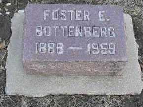 BOTTENBERG, FOSTER E. - Fulton County, Illinois | FOSTER E. BOTTENBERG - Illinois Gravestone Photos