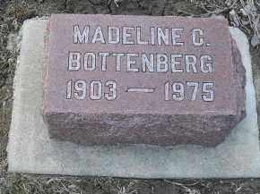 BOTTENBERG, MADELINE - Fulton County, Illinois | MADELINE BOTTENBERG - Illinois Gravestone Photos