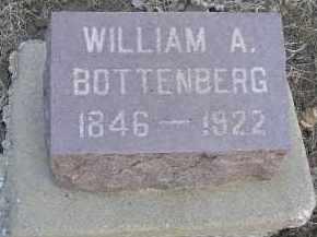 BOTTENBERG, WILLIAM AMBERRY - Fulton County, Illinois | WILLIAM AMBERRY BOTTENBERG - Illinois Gravestone Photos