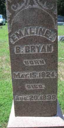 LUTZ BRYAN, EMALINE BARBARA - Fulton County, Illinois | EMALINE BARBARA LUTZ BRYAN - Illinois Gravestone Photos