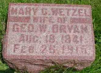 WETZEL BRYAN, MARY CATHERINE - Fulton County, Illinois | MARY CATHERINE WETZEL BRYAN - Illinois Gravestone Photos