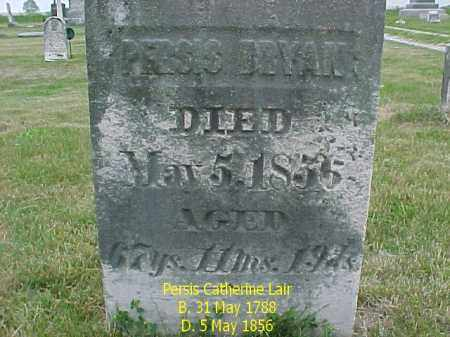 BRYAN, PERSIS CATHERINE - Fulton County, Illinois | PERSIS CATHERINE BRYAN - Illinois Gravestone Photos