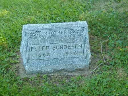BUNDESEN, PETER - Fulton County, Illinois | PETER BUNDESEN - Illinois Gravestone Photos
