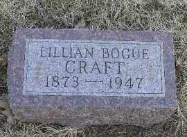 CRAFT, LILLIAN - Fulton County, Illinois | LILLIAN CRAFT - Illinois Gravestone Photos