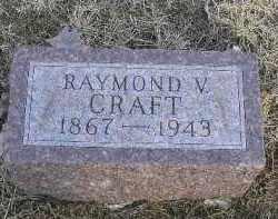 CRAFT, RAYMOND V. - Fulton County, Illinois | RAYMOND V. CRAFT - Illinois Gravestone Photos