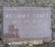 CRAFT, WILLIAM EDWARD - Fulton County, Illinois | WILLIAM EDWARD CRAFT - Illinois Gravestone Photos