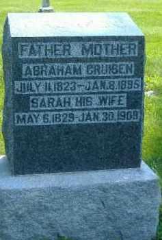 CRUISEN, ABRAHAM - Fulton County, Illinois | ABRAHAM CRUISEN - Illinois Gravestone Photos