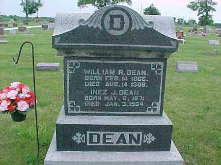 DEAN, INEZ JOSEPHINE - Fulton County, Illinois | INEZ JOSEPHINE DEAN - Illinois Gravestone Photos