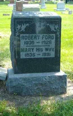 FORD, ROBERT - Fulton County, Illinois | ROBERT FORD - Illinois Gravestone Photos